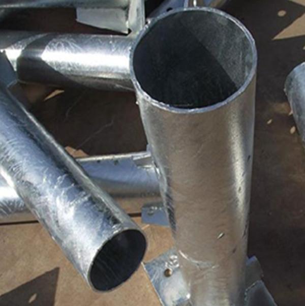 白銀鍍鋅圓形立柱