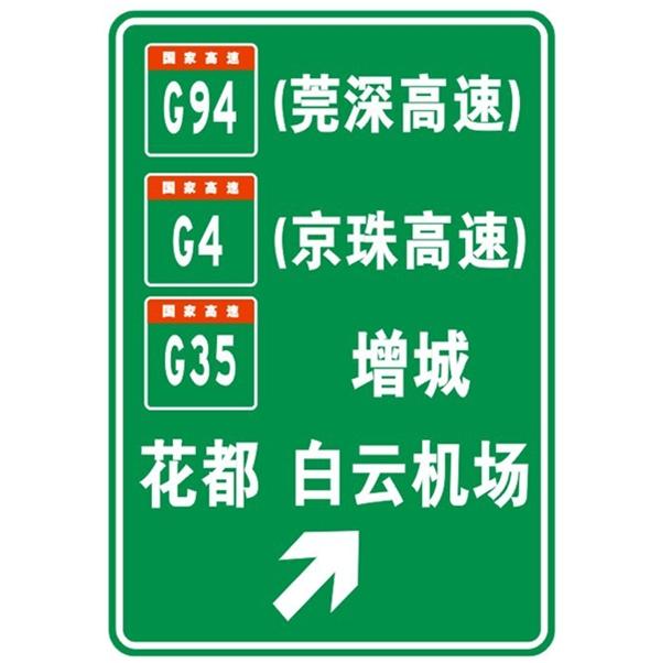新疆公路標志標牌